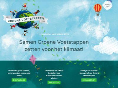 Samen Groene Voetstappen zetten voor het klimaat