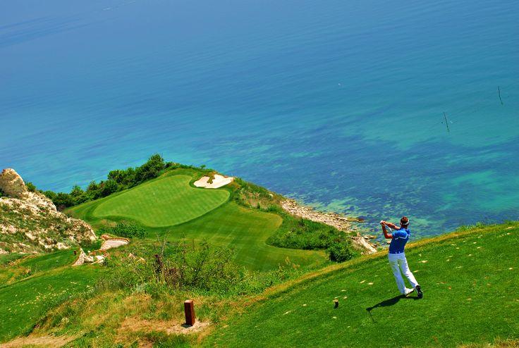 One of three golf courses in Balchik