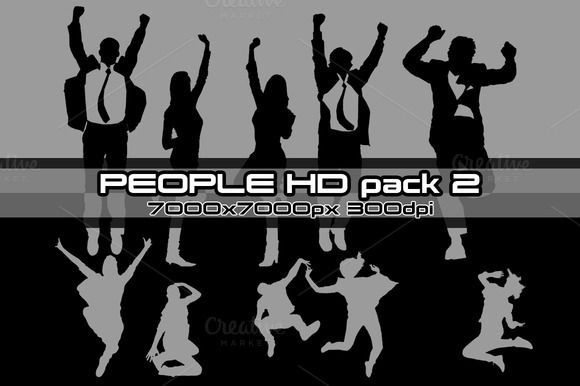 People HD pack 02 by stallfish's art store on @creativemarket