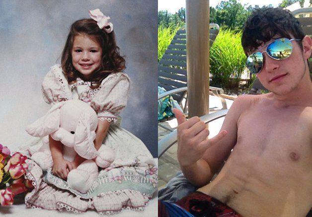 Ela nasceu menino e ele nasceu menina, hoje são um casal