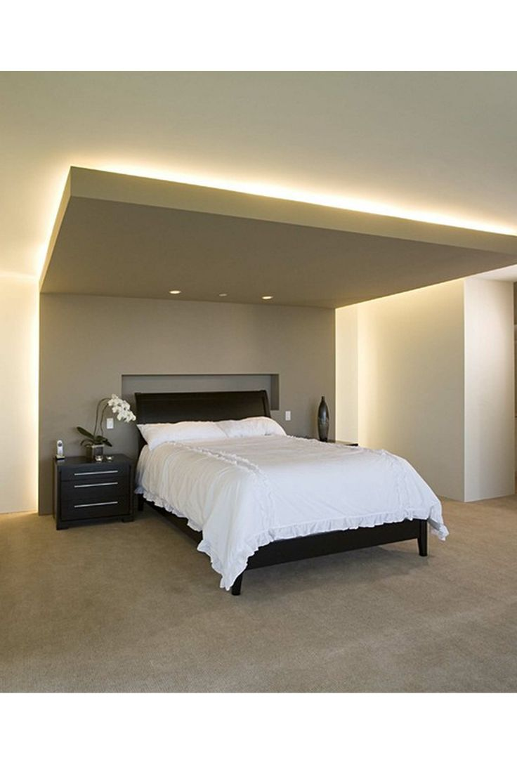 Retomb e de plafond lumi re dessus plafond pinterest bedrooms storage beds and bed room - Bed plafond ...