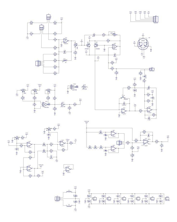Ray Wilson Voltage Controlled Oscillator Schematics