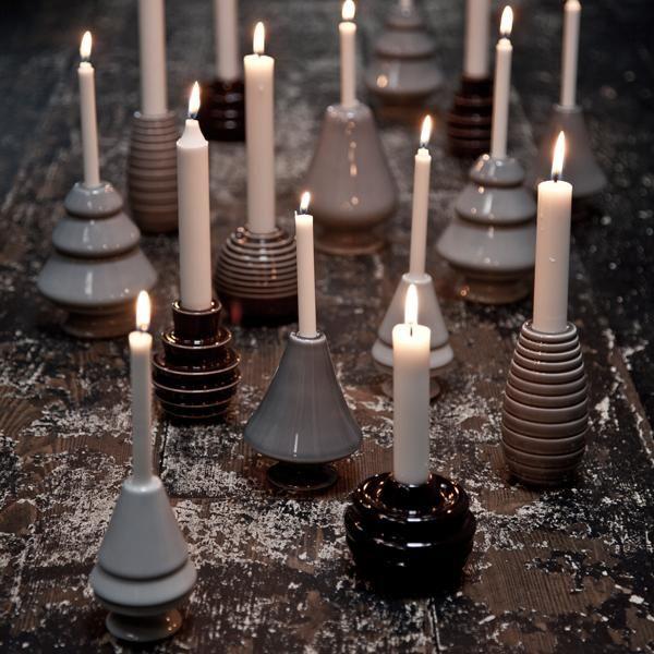 Cono lysestage fra Kähler, til alminde lys
