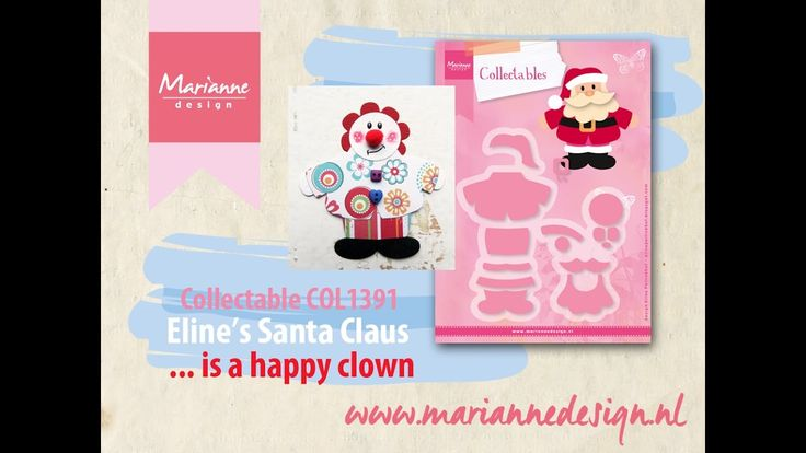 How to make a Clown of the COL1391 Santa Claus by Eline