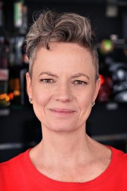 Kirsten Holm, owner of K-bar - the first cocktail bar in Copenhagen