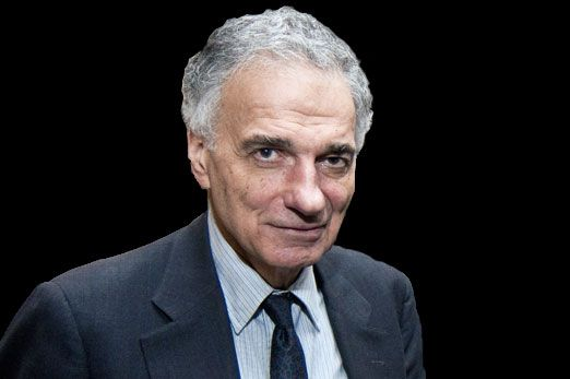 Four-time presidential candidate Ralph Nader has a bit of advice for Democratic candidate Sen. Bernie Sanders. Stay in the race.