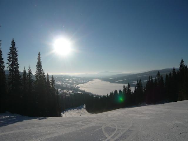 Åre downhill skiing 2011