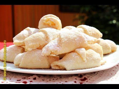 Cornulete cu nuca de cocos | Farfuria vesela - YouTube