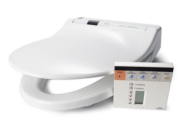 TOTO Washlet S300 Elongated Toilet Bidet Seat SW554-01 White