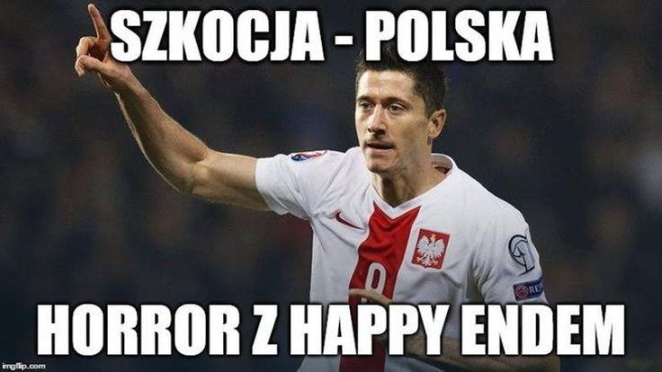 Polska zremisowała 2:2 ze Szkocją! Memy po meczu