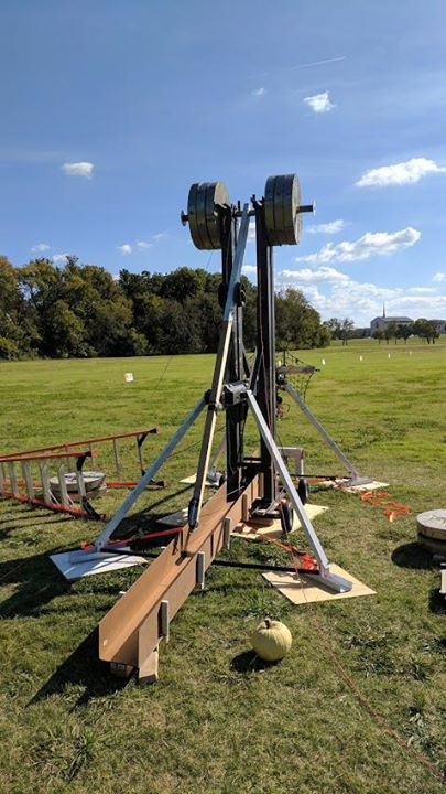 Dallas Makerspace built an all steel 1 ton floating arm Trebuchet Check out the full project http://ift.tt/2e6xpnG Don't Forget to Like Comment and Share! - http://ift.tt/1HQJd81