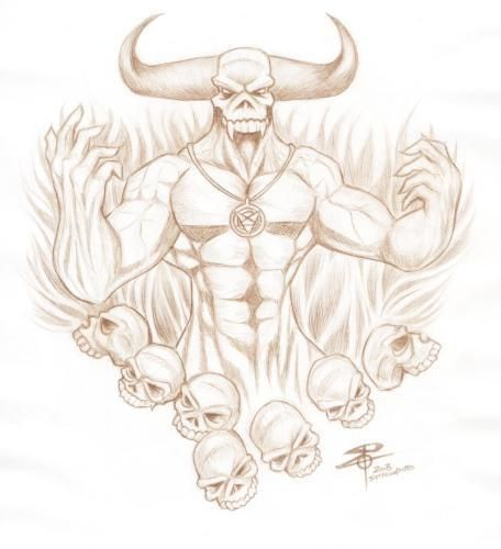 Demon Coloring Pages