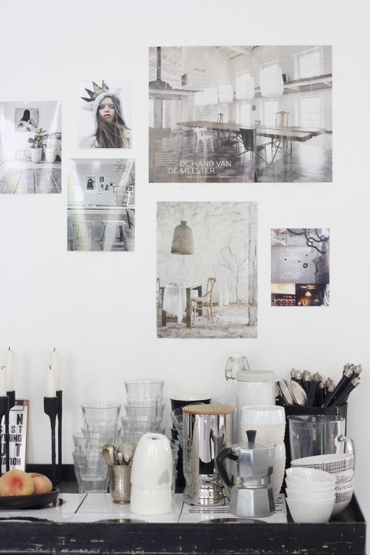 Homes with Heart: High Contrast in a Blogger's Amsterdam Abode   decor8 - Styled and Photographed by Holly Marder