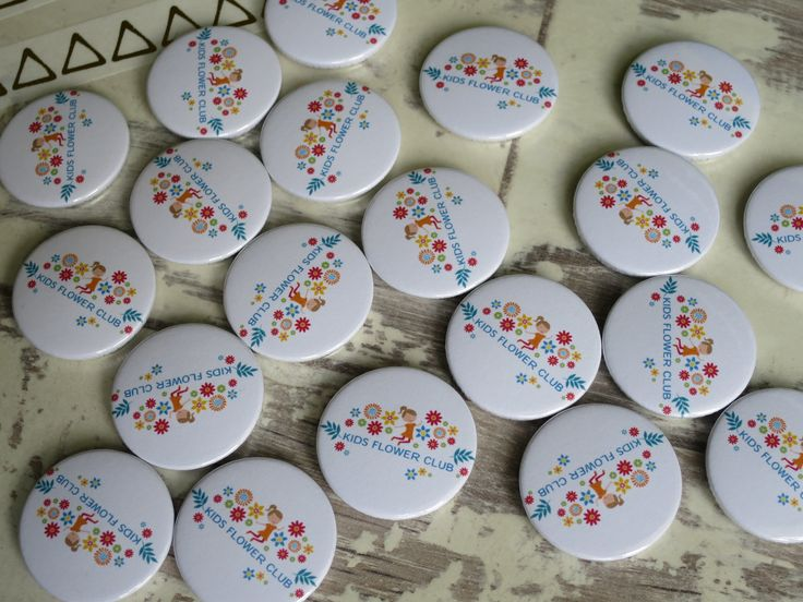 A cute set of custom badges going out to a lovely customer. Order yours at