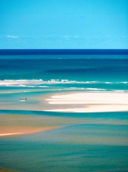 Mozambique's six-island Bazaruto Archipelago, in the Indian Ocean