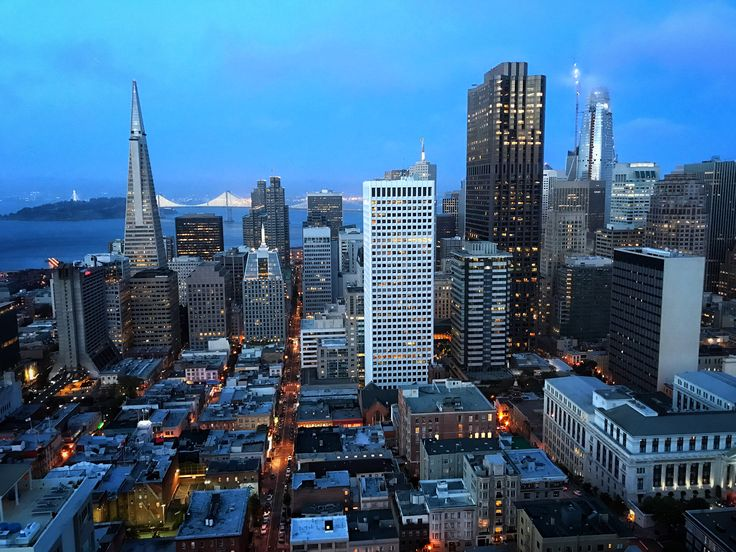 City lights from the Fairmont San Francisco!  #RoomwithaView #NightLife #Sf #Travel #Fairmont Photo By:  Colson Griffith