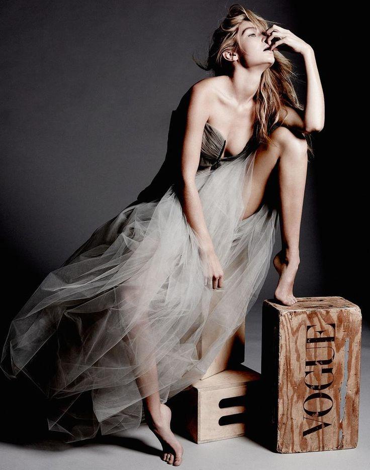 Gigi Hadid photographed by Yu Tsai (2015)