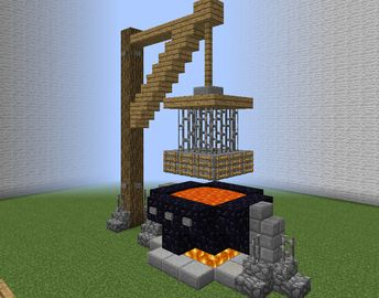 medieval community execution cage grabcraft your number one source for minecraft buildings blueprints - Minecraft Design Ideas