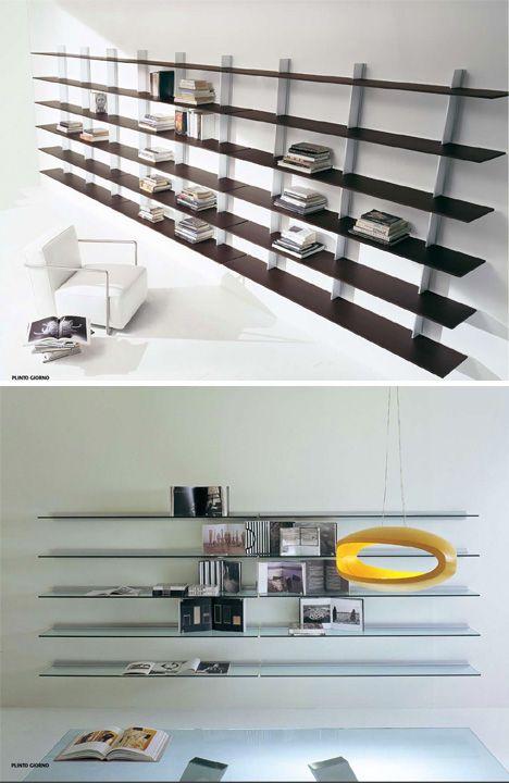 Designer Bookshelves Modern Shelving