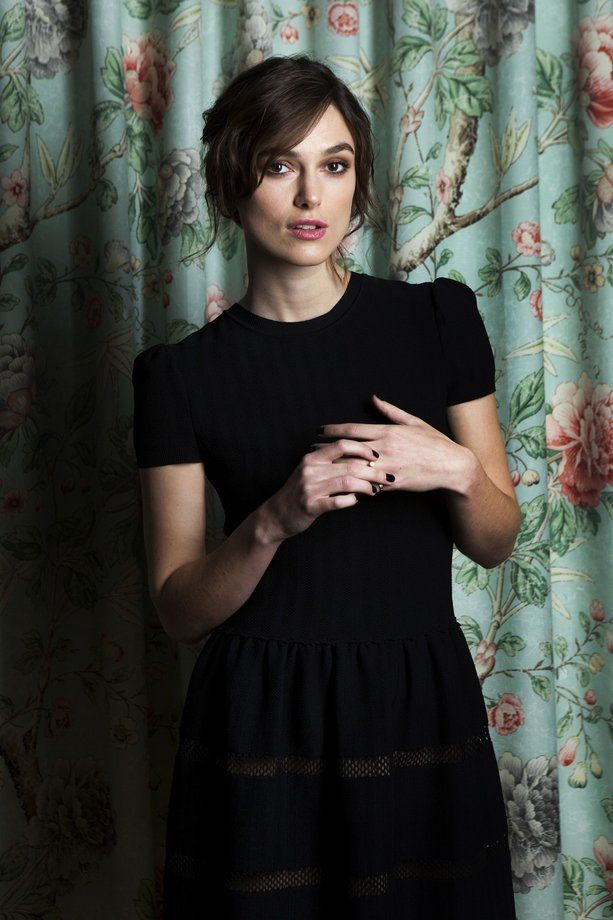 """Anna Karenina"" star Keira Knightley has backed off from taking things ""far too seriously."""