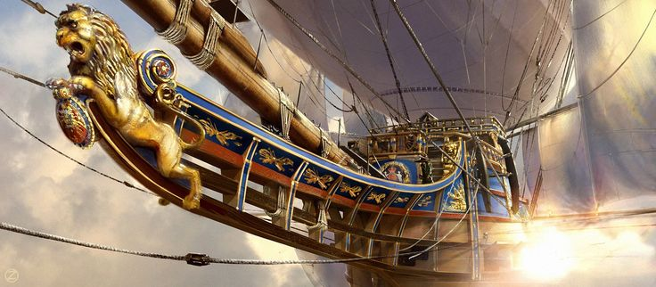 Οι Τρεις Σωματοφύλακες 3D από τον Ulrich Zeidler #Airships παιχνίδια παιχνιδιού εικόνες εικόνες εικόνες GameScapes GamingShot φαντασία έννοια VistaLore ψηφιακή τέχνη καθημερινά pics ομορφιάς Fantasy sci-fi επιστημονικής φαντασίας