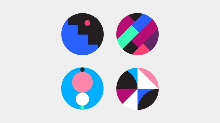 Abstract Sticker Set on Vimeo