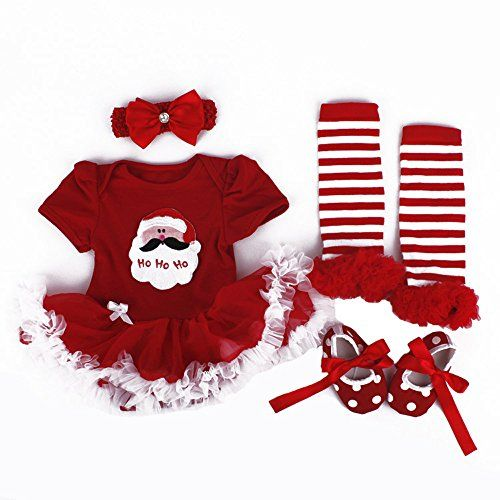 TANZKY Baby Girls' Santa Costume 4PC Headband Legging Shoe US Size 12M Light Red TANZKY http://www.amazon.com/dp/B00NJLA6OM/ref=cm_sw_r_pi_dp_go2lub0RZQSVC