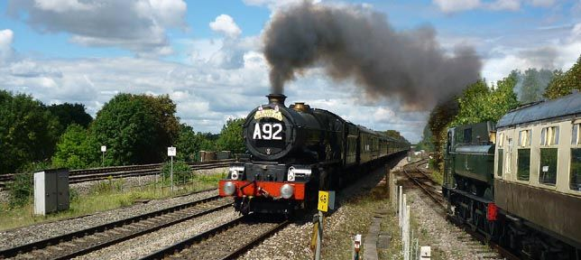 Cholsey & Wallingford railway is  a 2 ¹⁄ mile long standard gauge heritage railway just a few minutes' drive from The Old Post Office, Wallingford