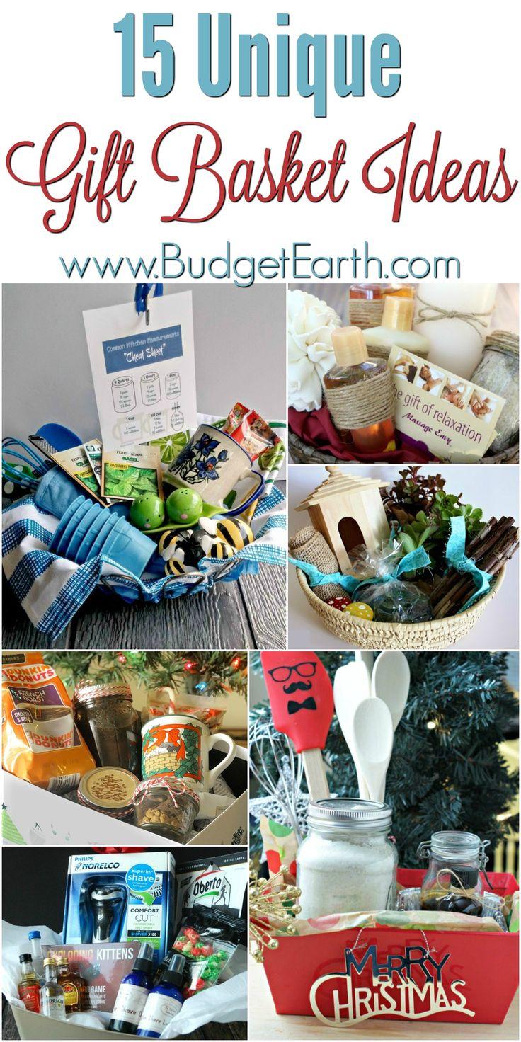 25+ unique Unique gift basket ideas ideas on Pinterest | Groomsmen ...