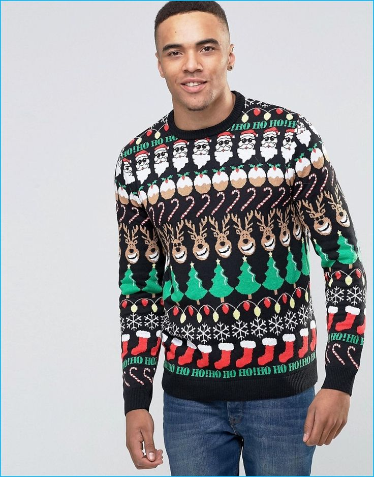 13 best Men's Christmas Sweaters images on Pinterest | Christmas ...