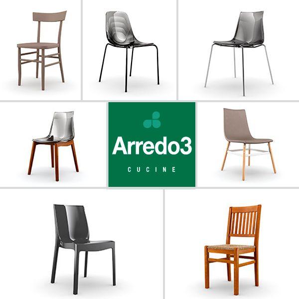 Per riposare, pensare, leggere, mangiare… o semplicemente vivere. #Arredo3 #design #living #chair    www.arredo3.it/sedie/moderno/