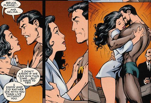bruce wayne and selena kyle relationship advice