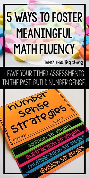 In this post you will find 5 ways to foster meaningful math fluency. Teach strategies that focus on number sense, integrate daily writing practice, promote math accountable discussions, provide time for students to practice with classmates, and implement alternative forms of assessment. These tips and suggestions are a great way to prepare your elementary students for middle and high school. Make math engaging and fun and reduce anxiety and stress in your classroom with these ideas.