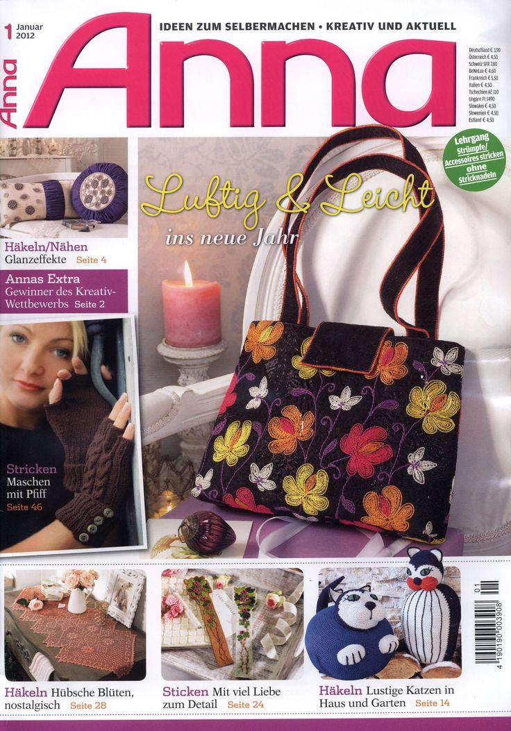 ANNA №1-2012_embroidery, crochet, knitting