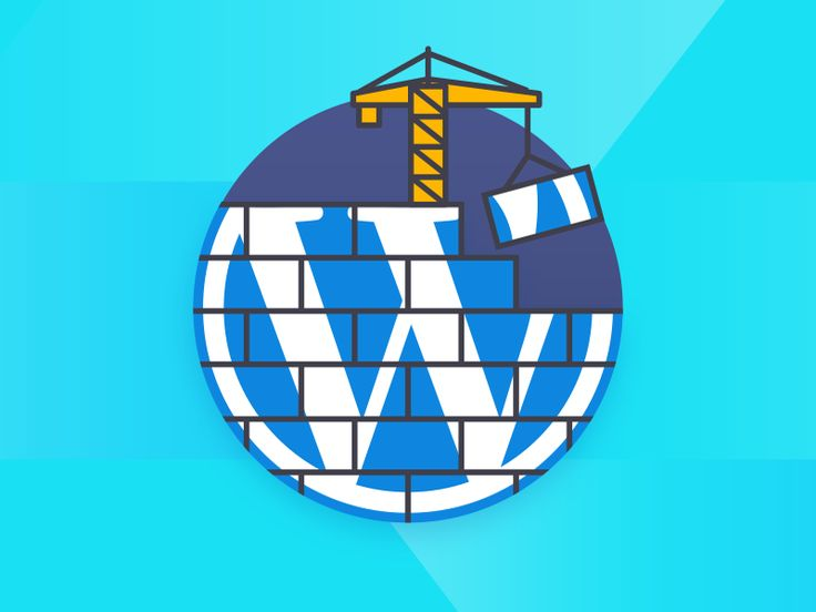 We posted a new illustration for under dev Wordpress websites. Check it out on @dribbble