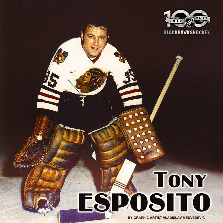 Tony Esposito #хоккей #вратарь #нхл #nhl #goalie #chicagoblackhawks #vezinatrophy #icehockey #legends #легенды #usa #canada #канада