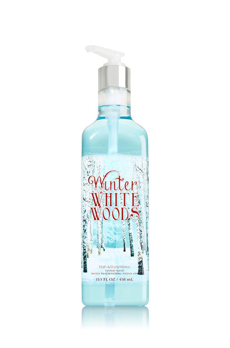 Winter White Woods Luxury Hand Soap Soap Sanitizer