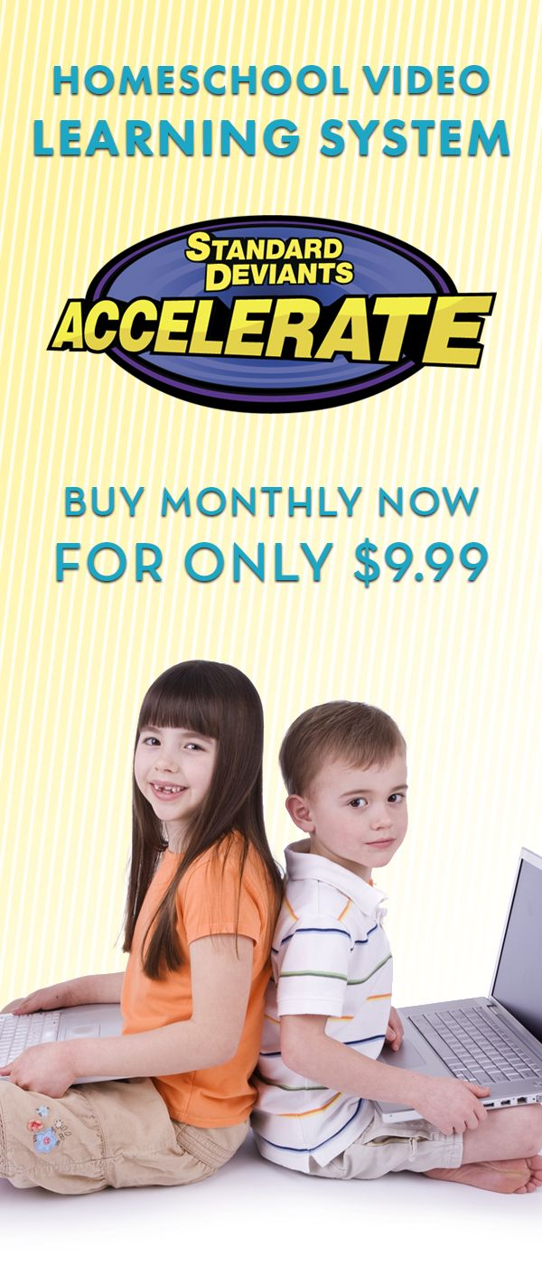 Subjects at $9.99!  Homeschool Video eLearning at www.sdaccelerate.com