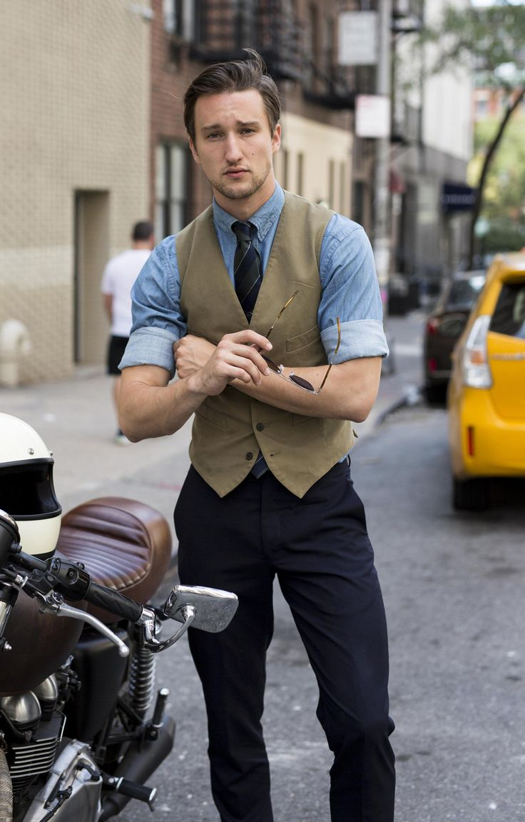 """billy-george: """" Marcel Floruss, kiling game as usual. Photo via One Dapper Street """""""