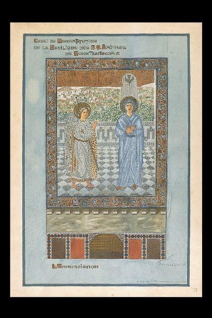 Alexandre M. RAYMOND Basilique Sainte Sophie. L'Annonciation.