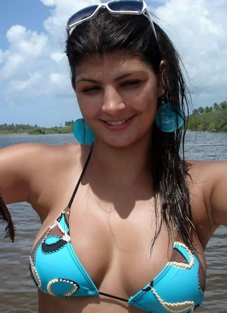 Hazel Desi Indian Bikini Girl From Goa University