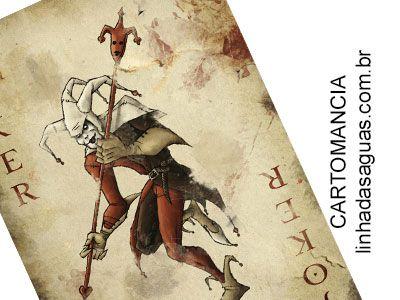 Cartomancia é o oráculo baseado no baralho de cartas contendo 52 lâminas e os naipes de copas, espadas, ouros e paus. Saiba mais sobre a carta Coringa.