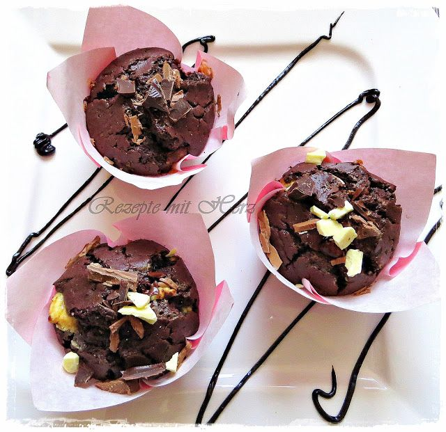 Rezepte mit Herz ♥: Triple Chocolate Muffins
