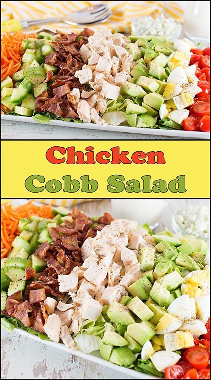 Chicken Cobb Salad  www.joyineveryseason.com