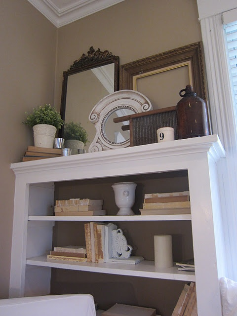 staged bookcase: Architecture Backdrops, Display Queen, Decor Ideas, Crafts Ideas, Bookshelf Inspiration, Staging Bookcases, Layered Bookcases, Frames Sets, Bookca Http Ap2Ch Blogspot Com