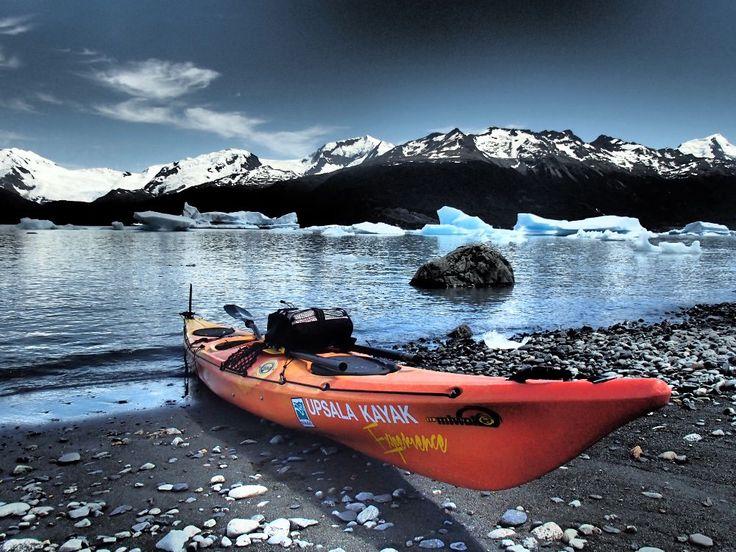 Patagônia argentina tem passeios de caiaque em icebergs
