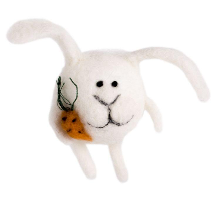 "Набор для валяния ""Кролик Кроля"", арт. WT-0117, ТМ Woolla"