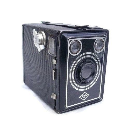 Antique Camera, Vintage Box Camera, Agfa Box Camera, Agfa Box 45, Vintage Camera, Antique Box Camera, 120 Film Camera, Rare Camera by HarmlessBananasTribe on Etsy