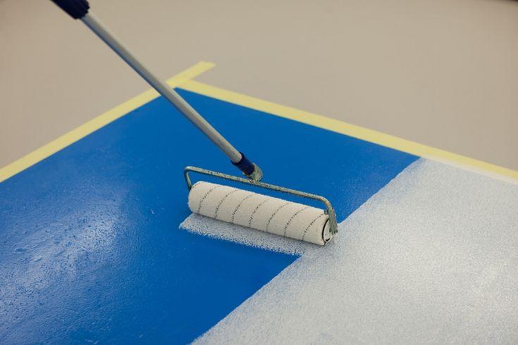 rénovation de sol de garage avec watco