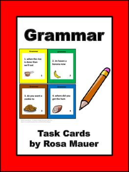 how grammar is taught in task 10122014 when you describe a chart, for example a pie chart, in 25% of your marks is based on grammar in the criteria of grammar, the examiner will check the range.